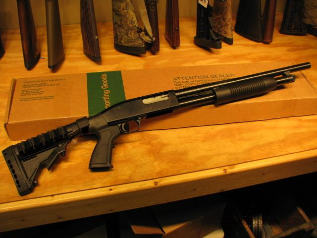 "New Mossberg Maverick Custom 12ga Shotgun T6 18.5""  Guns > Shotguns > Maverick Shotguns"