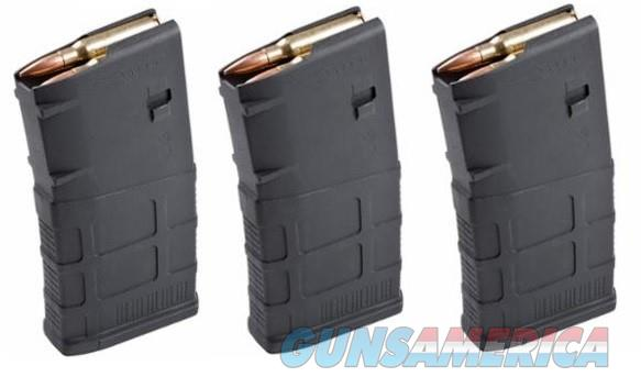 3 MAGPUL PMAG AR-10 308 Magazines 20rd P-MAG Black  Non-Guns > Magazines & Clips > Rifle Magazines > AR-15 Type