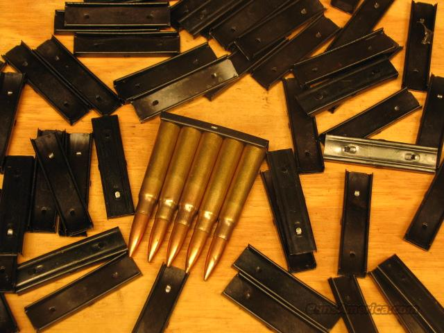 25 8mm Mauser Stripper Clips 8 mm K98 M48 VZ24  Non-Guns > Magazines & Clips > Rifle Magazines > Other