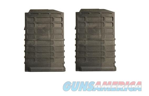2 Ruger Scout Magazines 308 10rd Black New PRO MAG  Non-Guns > Magazines & Clips > Rifle Magazines > Other