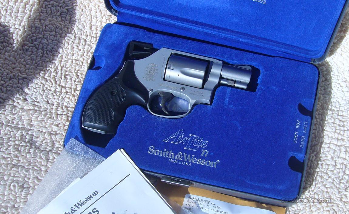 S&W 637 Airweight. .38 Special +P  Guns > Pistols > Smith & Wesson Revolvers > Pocket Pistols