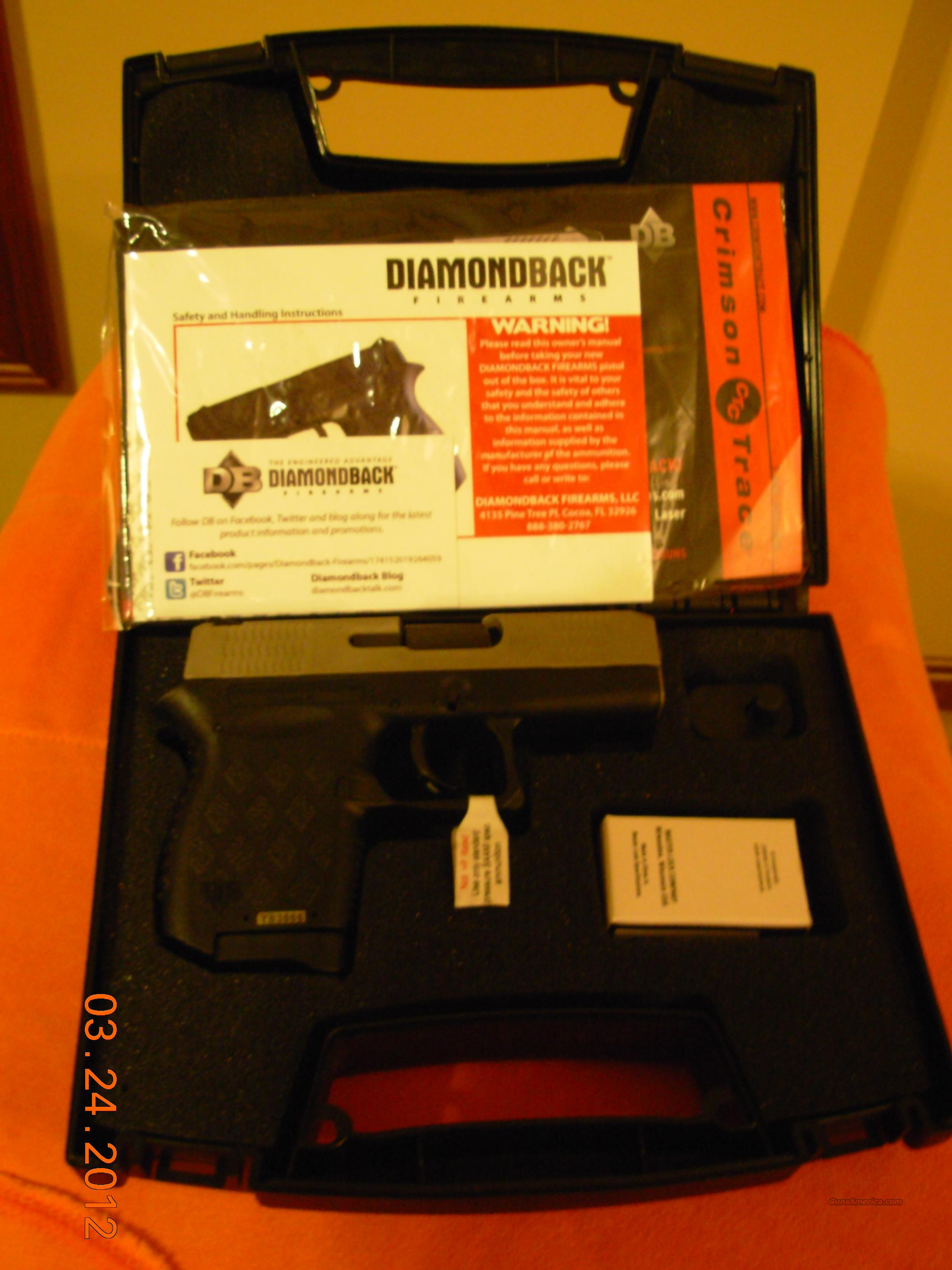 Diamondback 9mm Sainless steel!  Guns > Pistols > D Misc Pistols