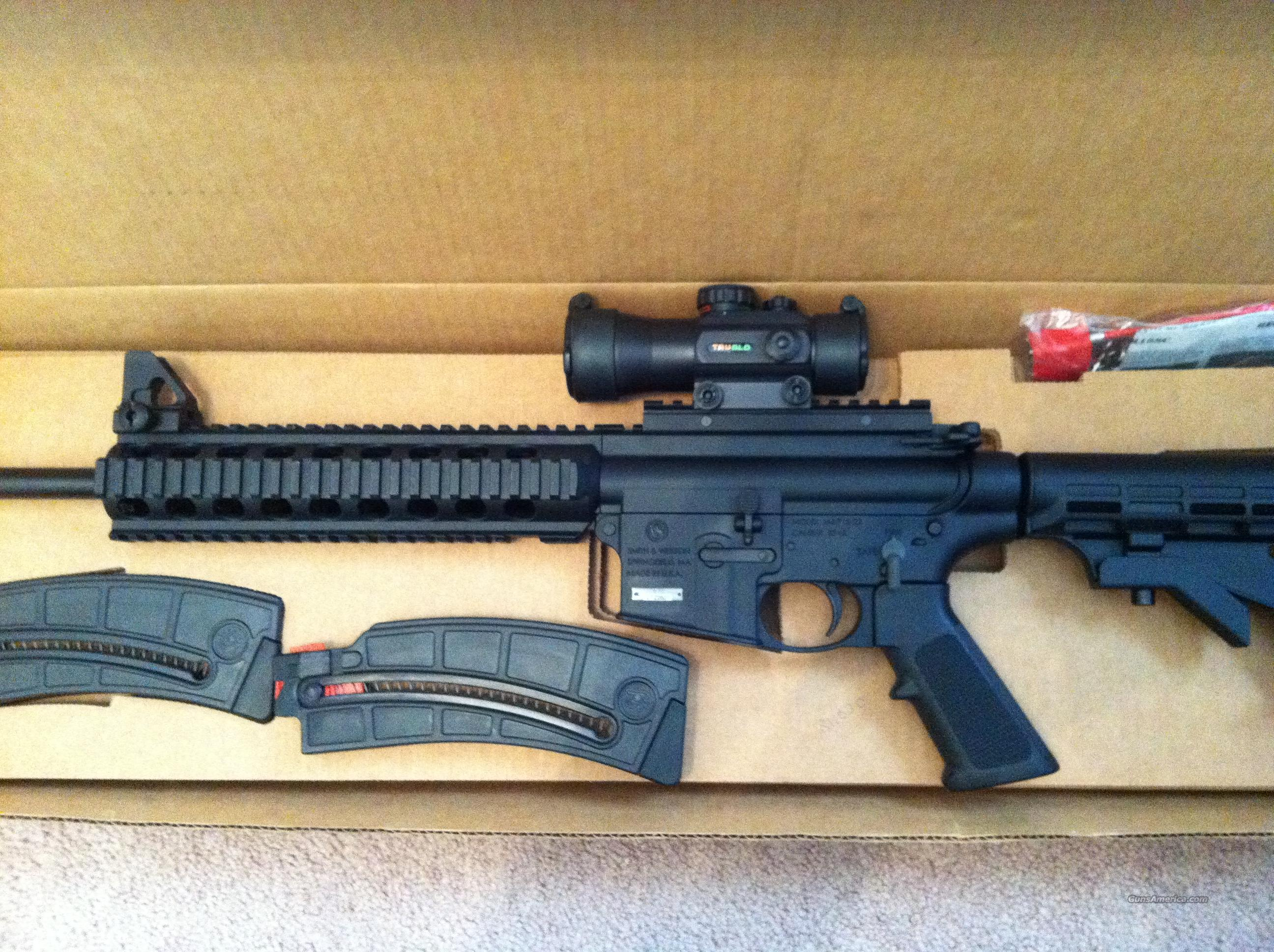 Smith and Wesson M&P 15-22 Rifle .22 LR  Guns > Rifles > Smith & Wesson Rifles > M&P