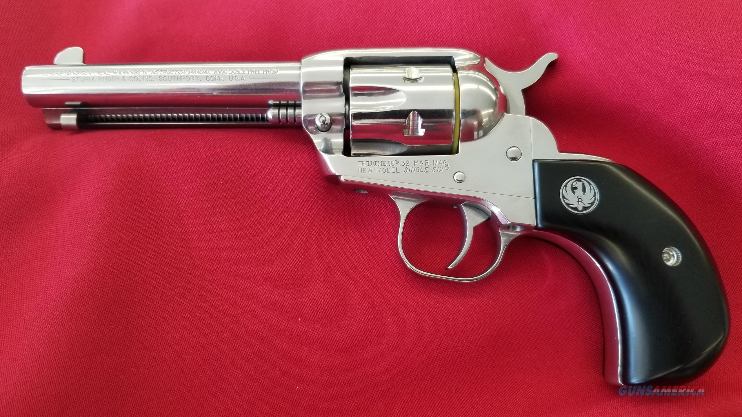 Ruger New Model Single Six in .32 H&R Magnum  Guns > Pistols > Ruger Single Action Revolvers > Single Six Type