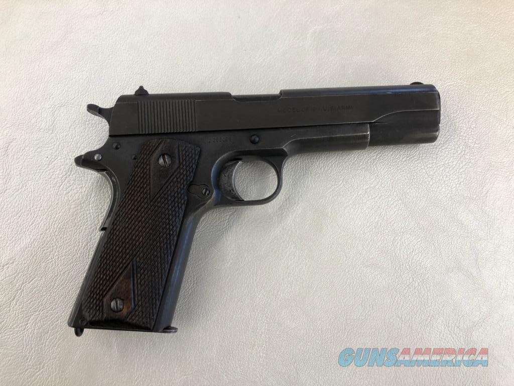 Colt 1911 (1918 Black Army)  Guns > Pistols > Colt Automatic Pistols (1911 & Var)