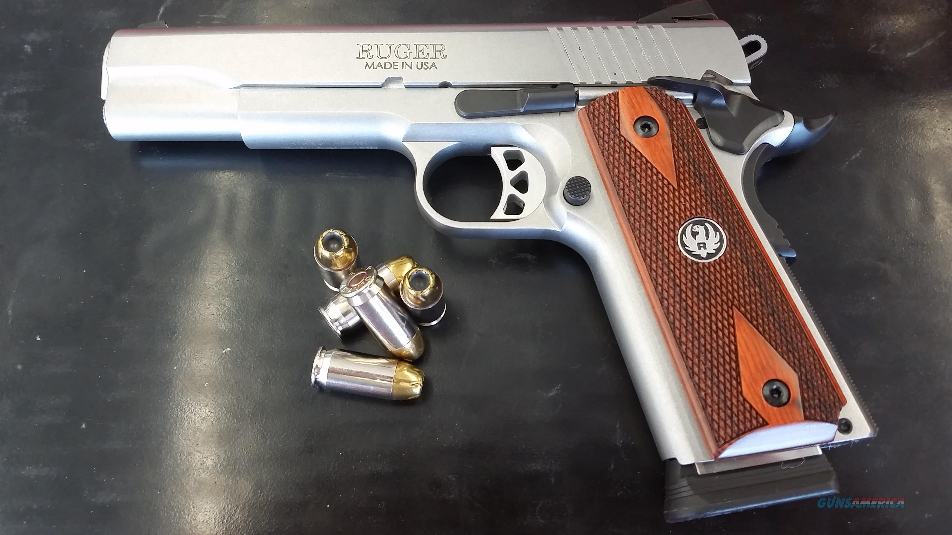 Ruger Government Model SR1911 45 ACP w/ (2) 8/7 Round Mags  Guns > Pistols > Ruger Semi-Auto Pistols > 1911