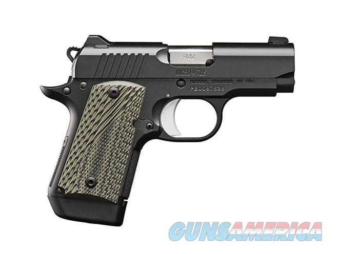 Kimber Micro 9 TLE (Tactical Law Enforcement) w/ 7 Round Mag  Guns > Pistols > Kimber of America Pistols > Micro 9