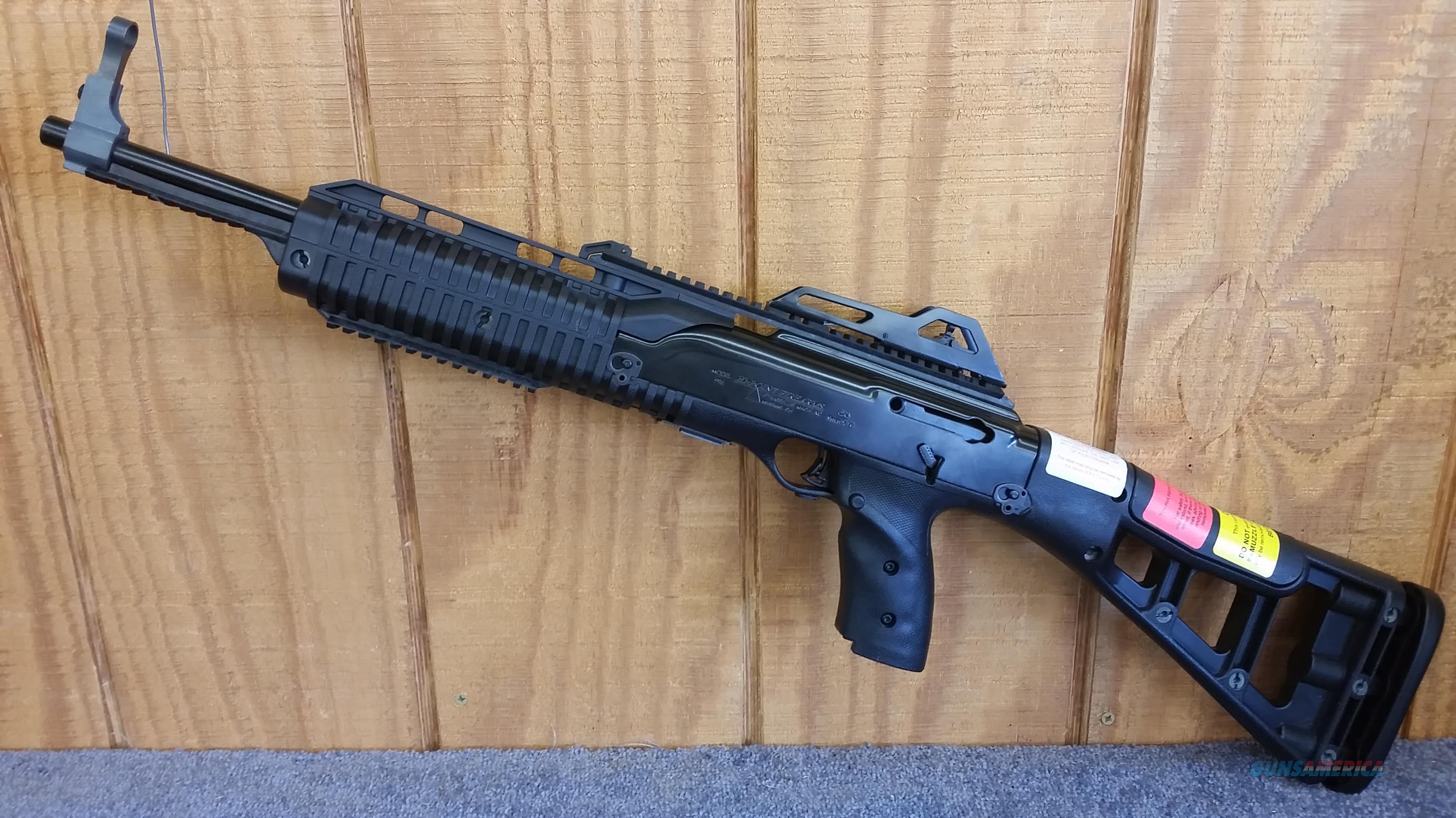 Hi-Point 995TS PRO Carbine 9mm w/ (2) 10 Round Mags and Forward Grip  Guns > Rifles > Hi Point Rifles