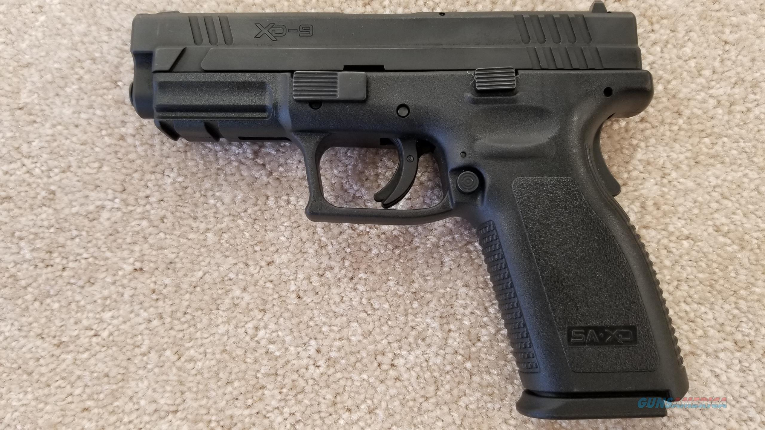 Pre-Owned Springfield Armory XD-9 9mm w/ (5) 15 Round Mags  Guns > Pistols > Springfield Armory Pistols > 1911 Type