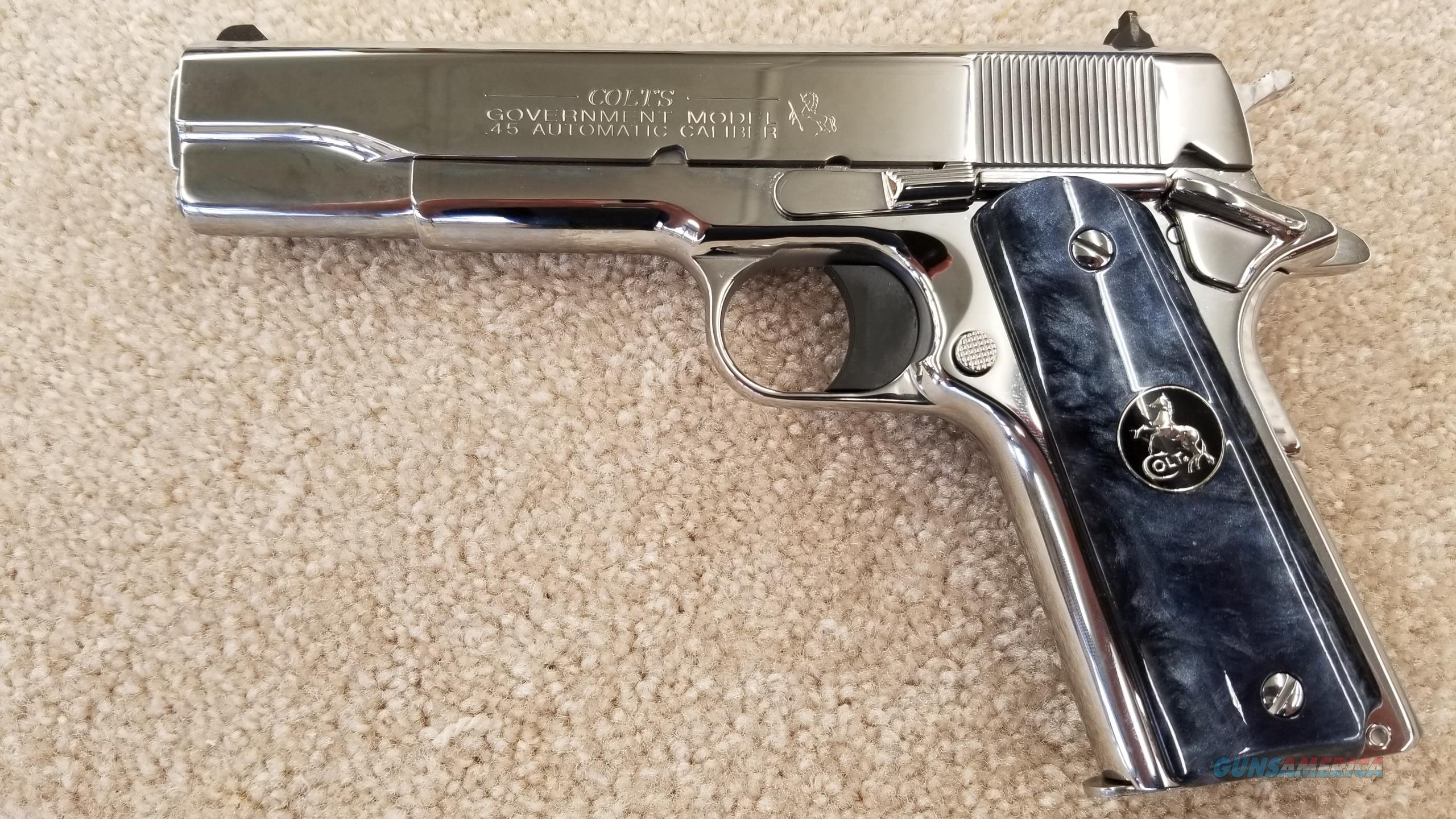 "Colt Lew Horton Edition Government Model ""O"" 1911 .45 ACP  Guns > Pistols > Colt Automatic Pistols (1911 & Var)"