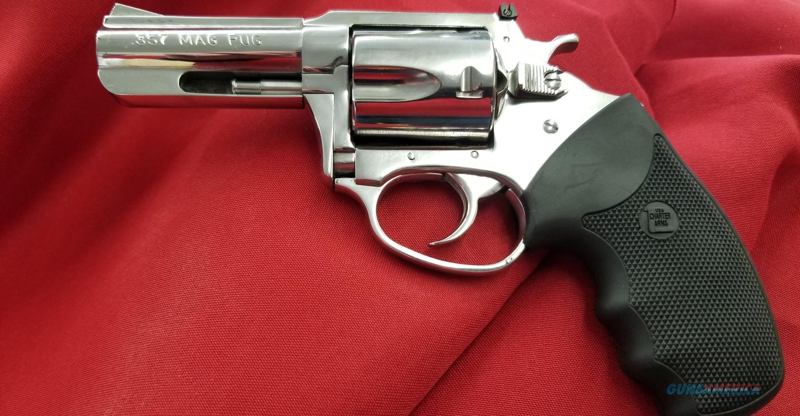 "Charter Arms 73539 MAG PUG 357 Hi Polish 3"" Barrel  Guns > Pistols > Charter Arms Revolvers"