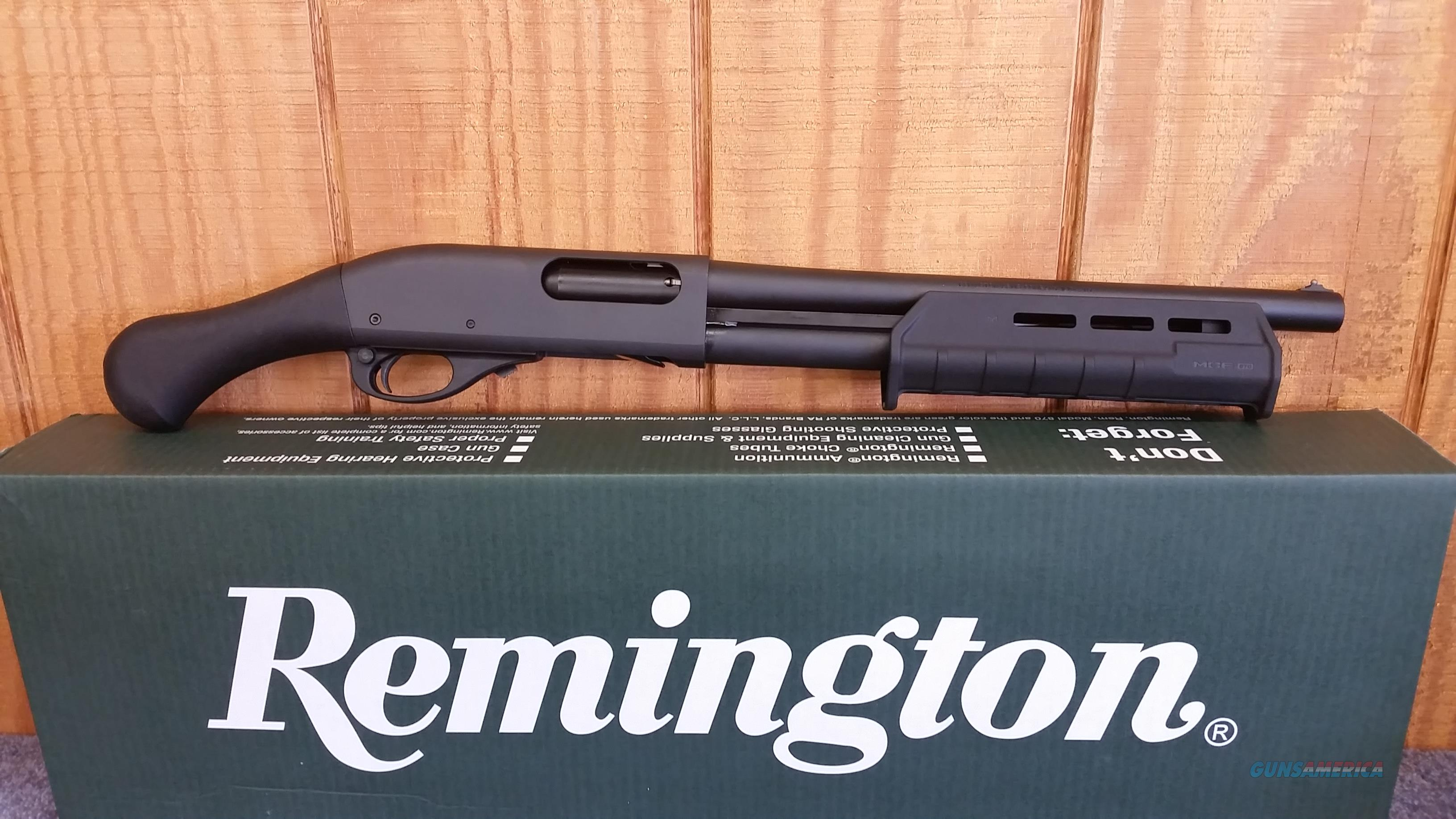 Remington 870 Tac-14 – Featuring 14-Inch Barrel No Tax Stamp Required  Guns > Shotguns > Remington Shotguns  > Pump > Tactical