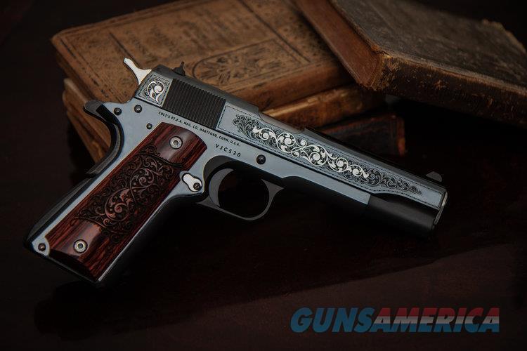 Colt Govt Model S70 Gustave Young Engraved Talo Addition 1 of 500  Guns > Pistols > Colt Automatic Pistols (1911 & Var)