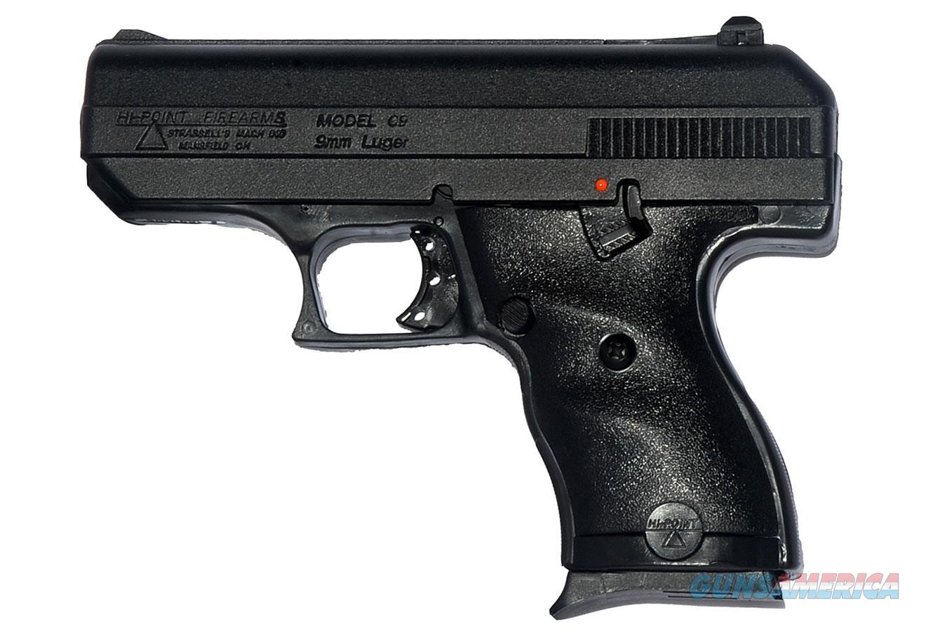 "Hi-Point C-9 Semi-Automatic 9mm 3.5"" Barrel 8+1 Rounds  Guns > Pistols > Hi Point Pistols"