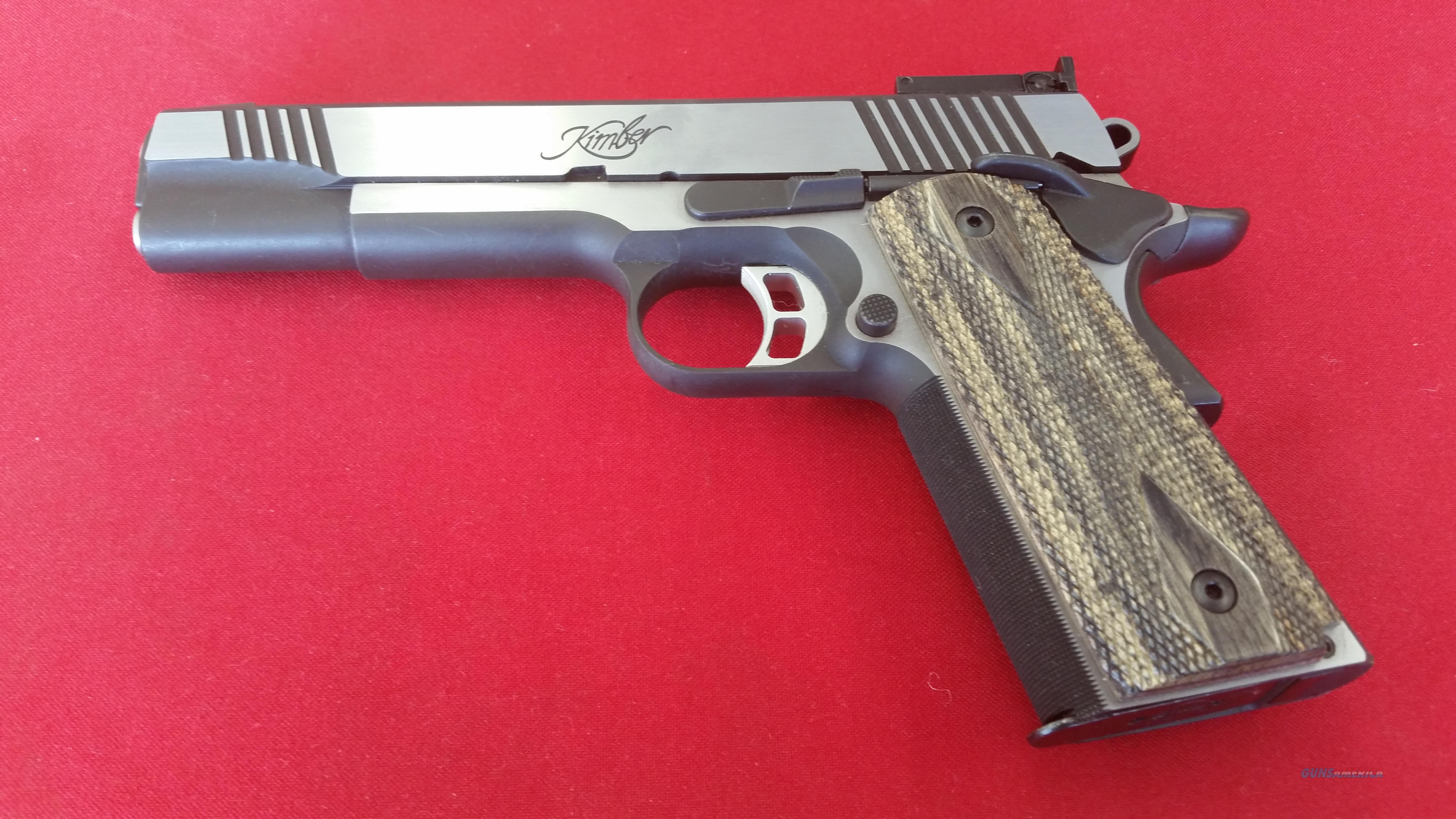 Kimber Eclipse Target II .45 ACP with Brush Polish Finish  Guns > Pistols > Kimber of America Pistols > 1911