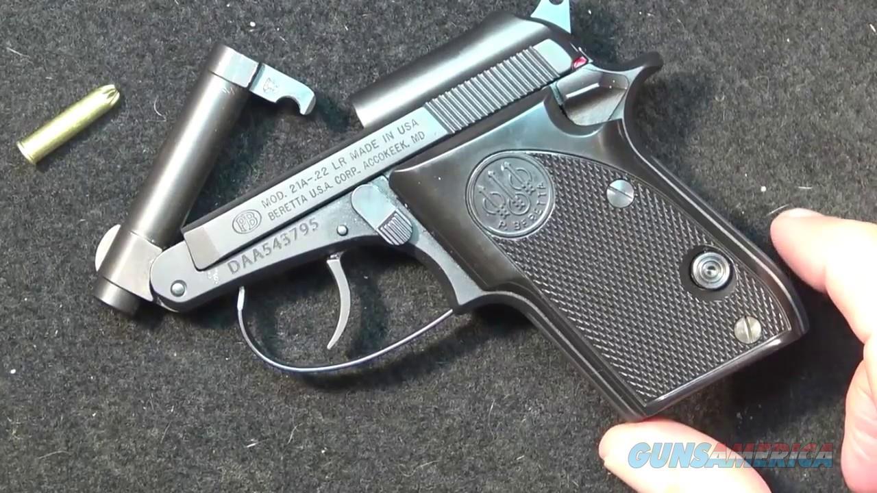Beretta 21 A Bobcat 22LR (Stainless)  Guns > Pistols > Beretta Pistols > Small Caliber Tip Out