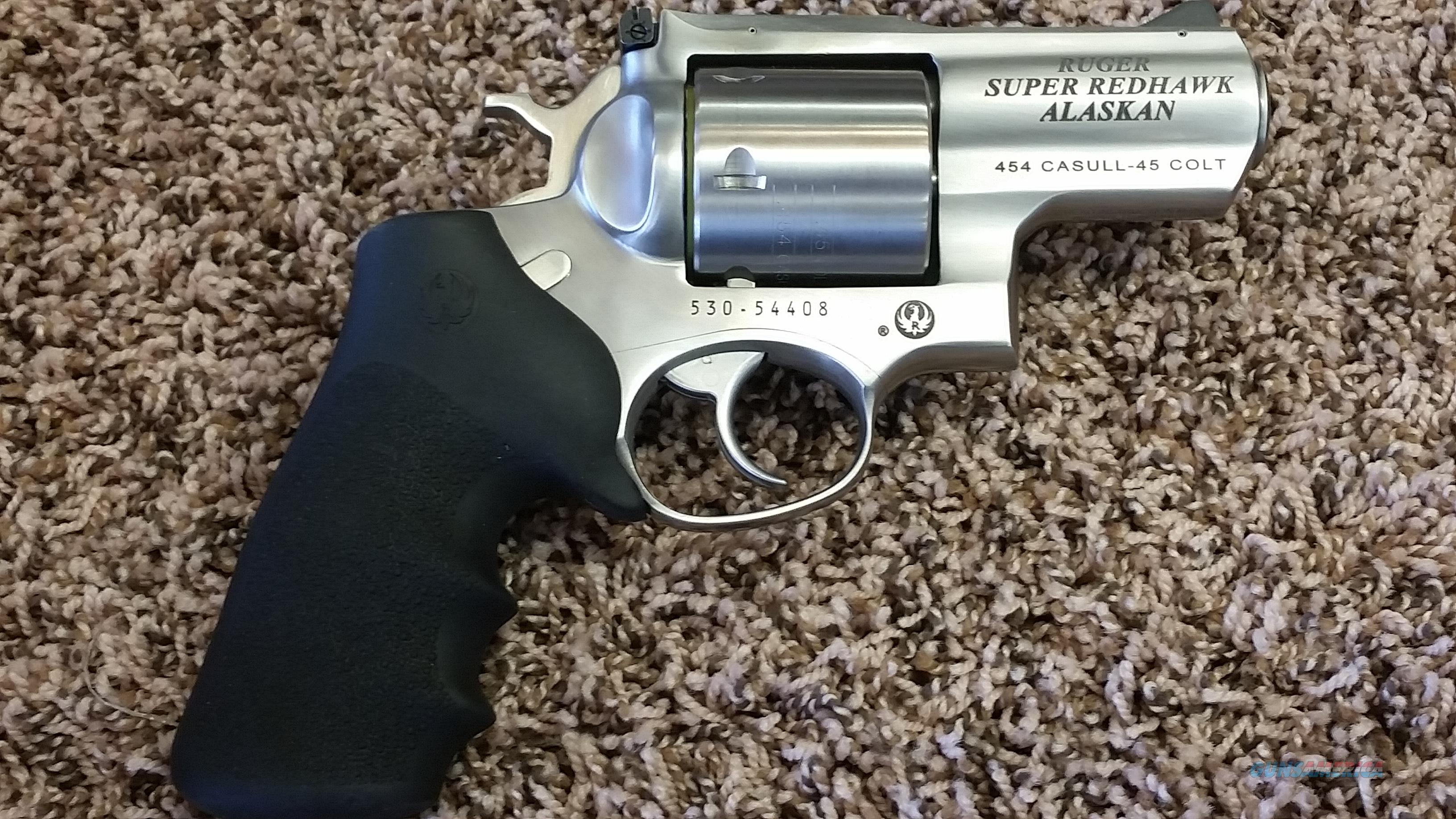 Ruger RedHawk Alaskan 454 Casull  Guns > Pistols > Ruger Double Action Revolver > Redhawk Type