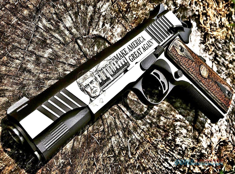 "Auto Ordnance ""TRUMP 45"" CUSTOM 1911 A1 in .45 ACP  Guns > Pistols > Auto Ordnance Pistols"