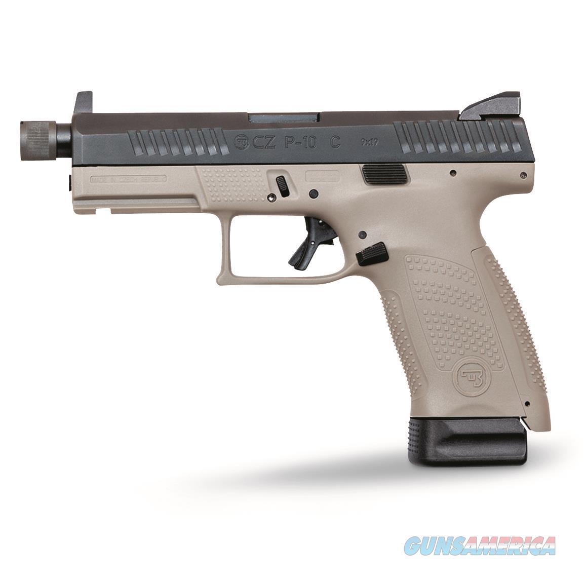 CZ P-10 C 9MM Urban Grey Suppressor-Ready  Guns > Pistols > CZ Pistols