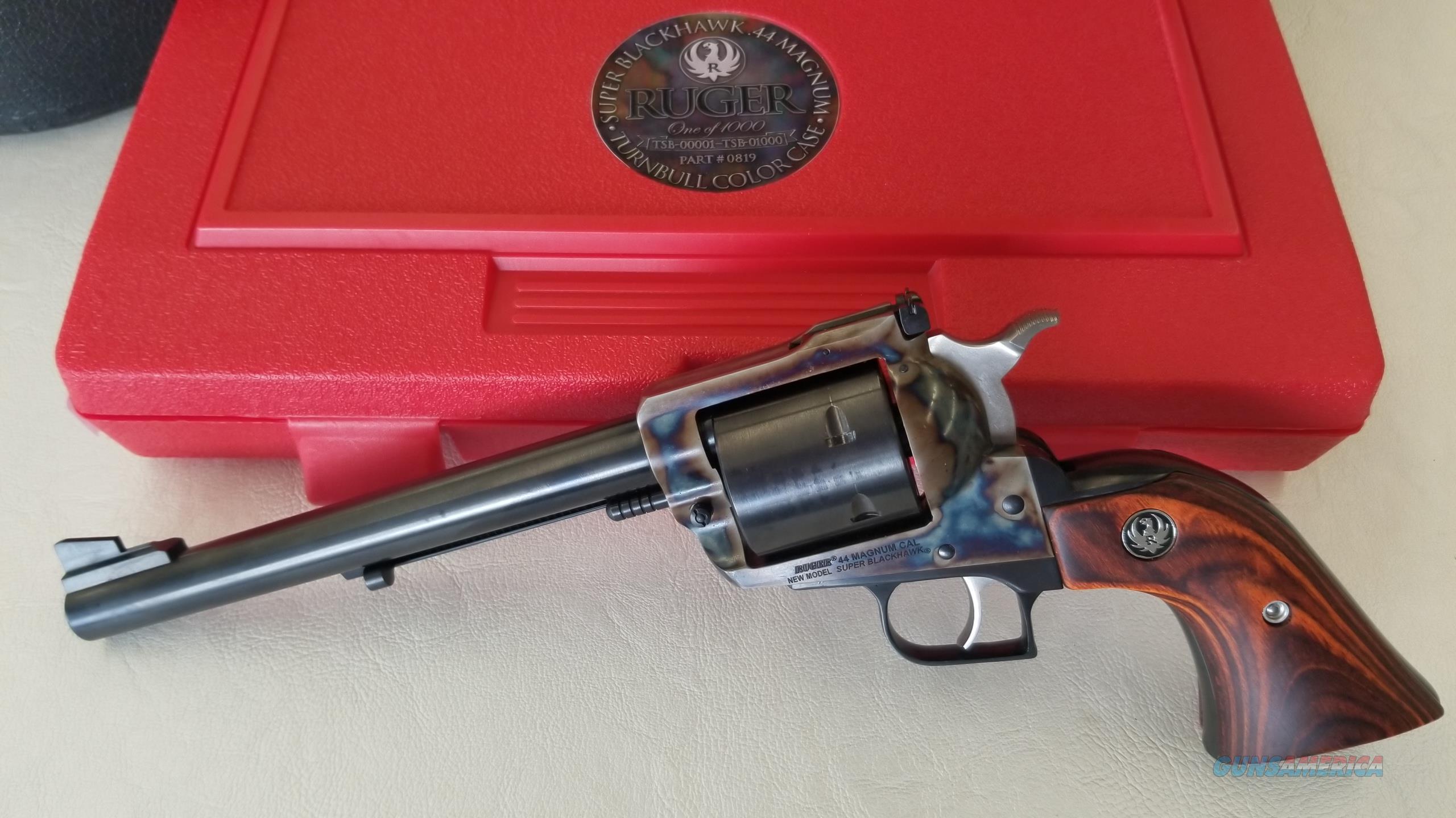 Pre Owned Ruger Super Blackhawk Turnbull Color Case  44 Magnum (1 of 1000)