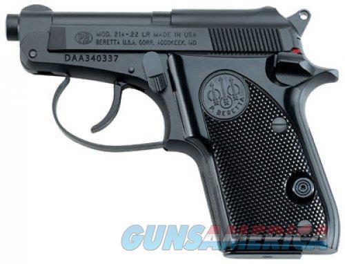 Beretta 21 A Bobcat 22LR (Blued)  Guns > Pistols > Beretta Pistols > Small Caliber Tip Out