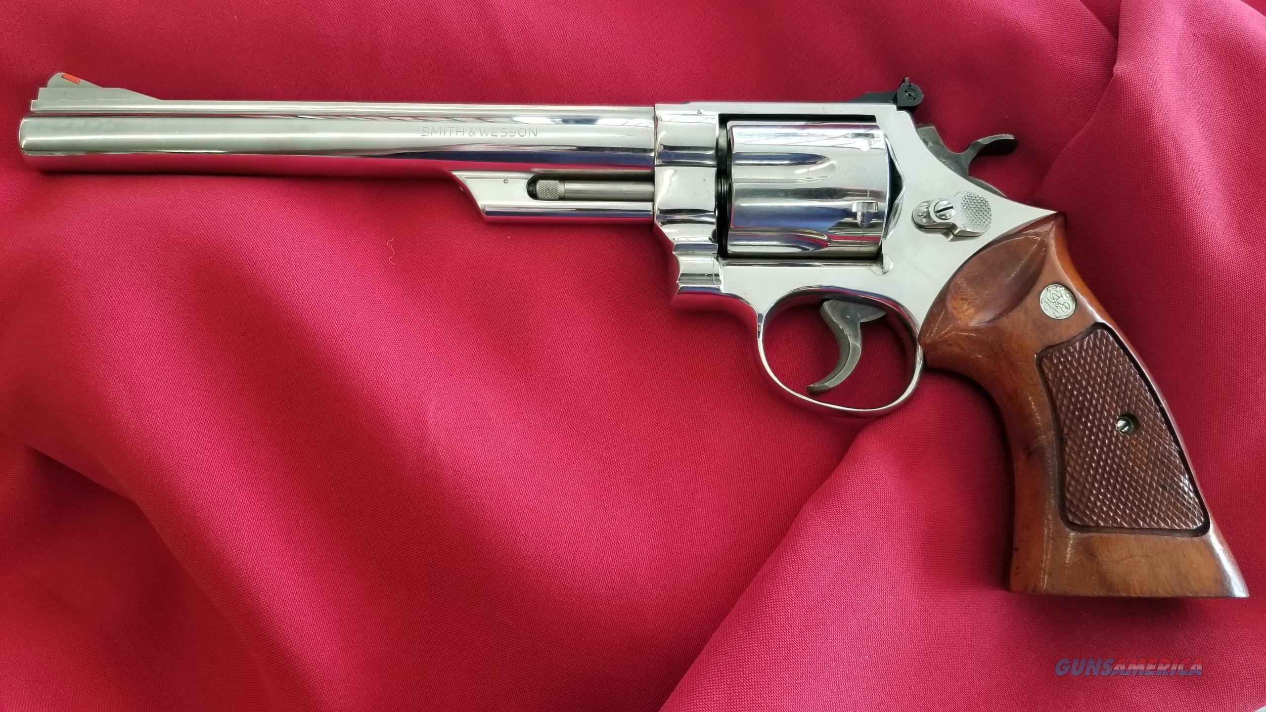 """Pre Owned Smith & Wesson 29-2 .44 Mag in Nickle, and 8 3/8"""" Barrel  Guns > Pistols > Smith & Wesson Revolvers > Full Frame Revolver"""