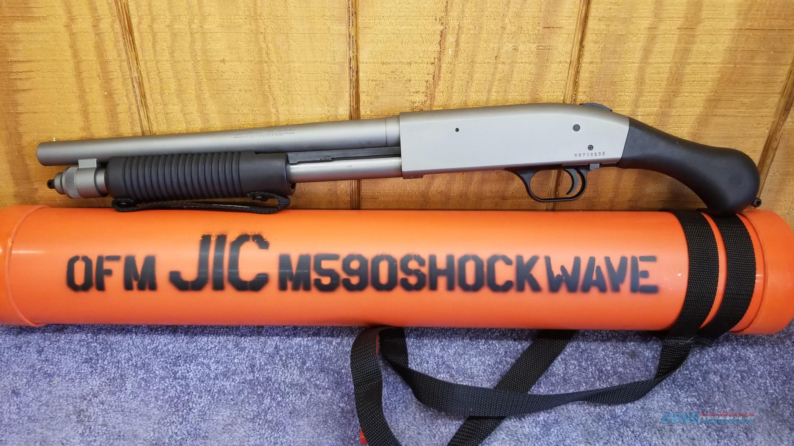 Mossberg 590 Shockwave 12 ga (Marinecote Finish)  Guns > Shotguns > Mossberg Shotguns > Pump > Tactical