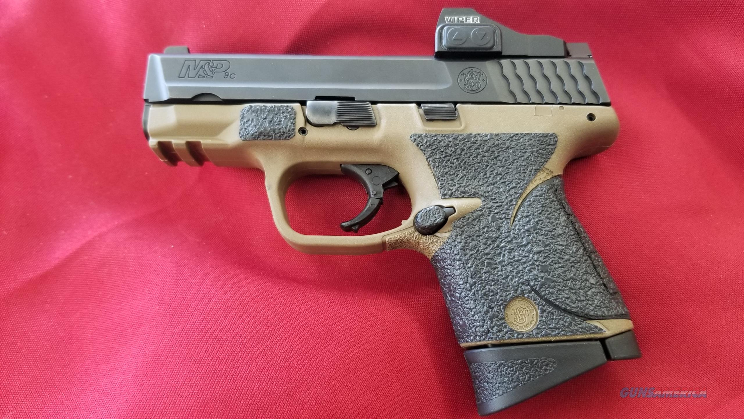 Used Smith & Wesson M&P 9c 9mm w/ Viper Sight  Guns > Pistols > Smith & Wesson Pistols - Autos > Polymer Frame