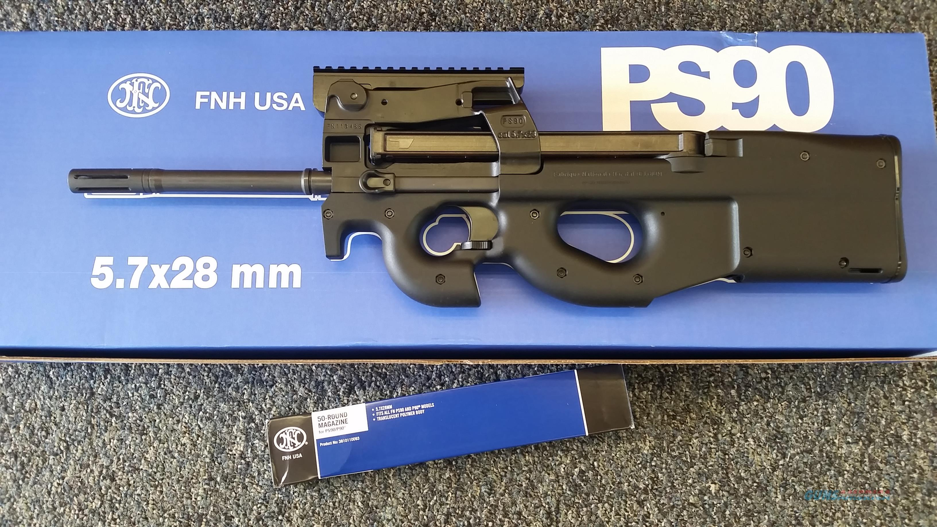 FN PS90 Semi-Automatic w/ additional 50 round magazine  Guns > Rifles > FNH - Fabrique Nationale (FN) Rifles > Semi-auto > PS90