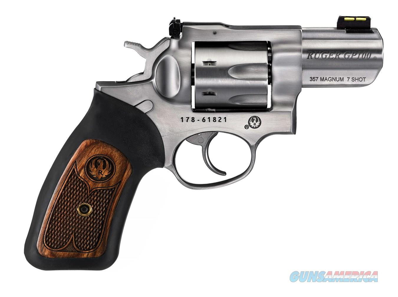 "Ruger GP100 2 1/2"" Double Action .357 Magnum  Guns > Pistols > R Misc Pistols"