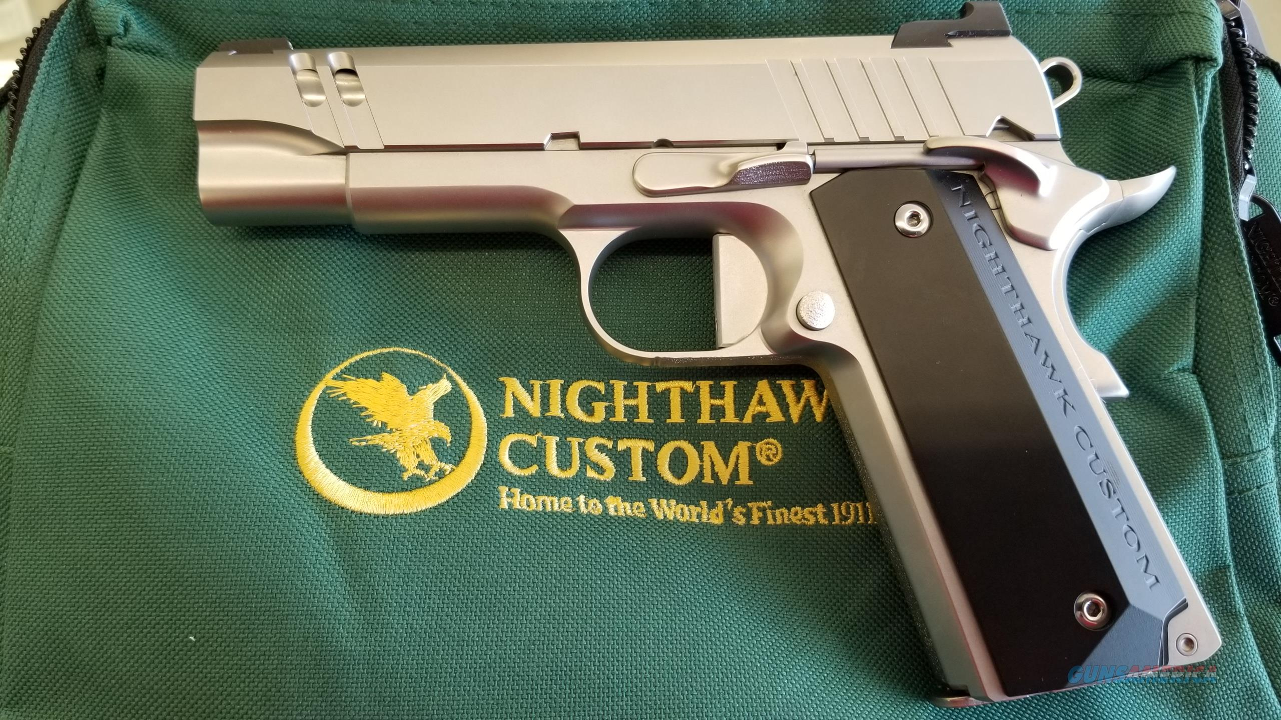 Nighthawk Customs Tri Cut Carry 9mm w/ Stainless Steel Upgrade  Guns > Pistols > Nighthawk Pistols