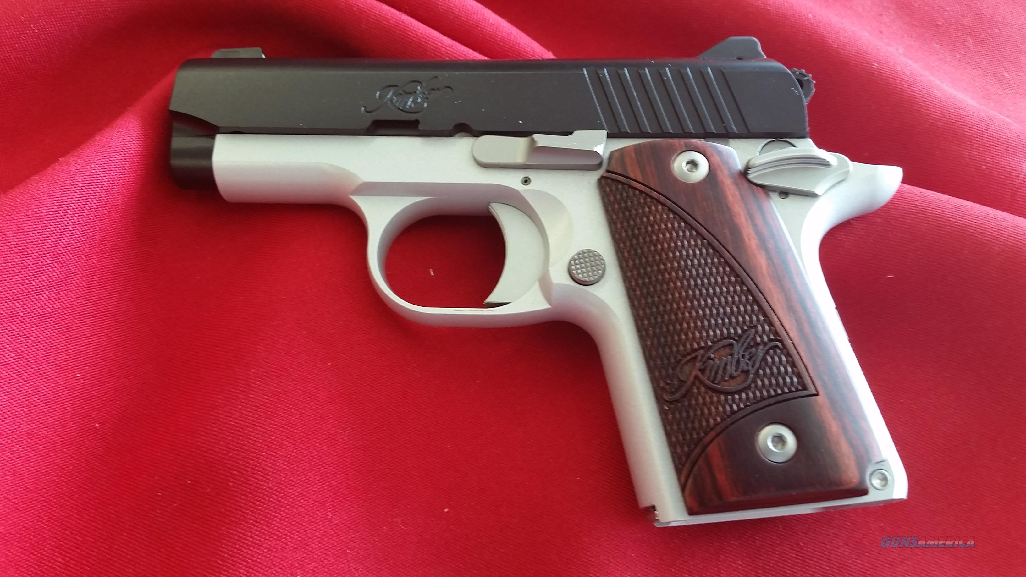 Pre-Owned Kimber Micro9 Two Tone 9mm w/6 Round Mag  Guns > Pistols > Kimber of America Pistols > Micro 9