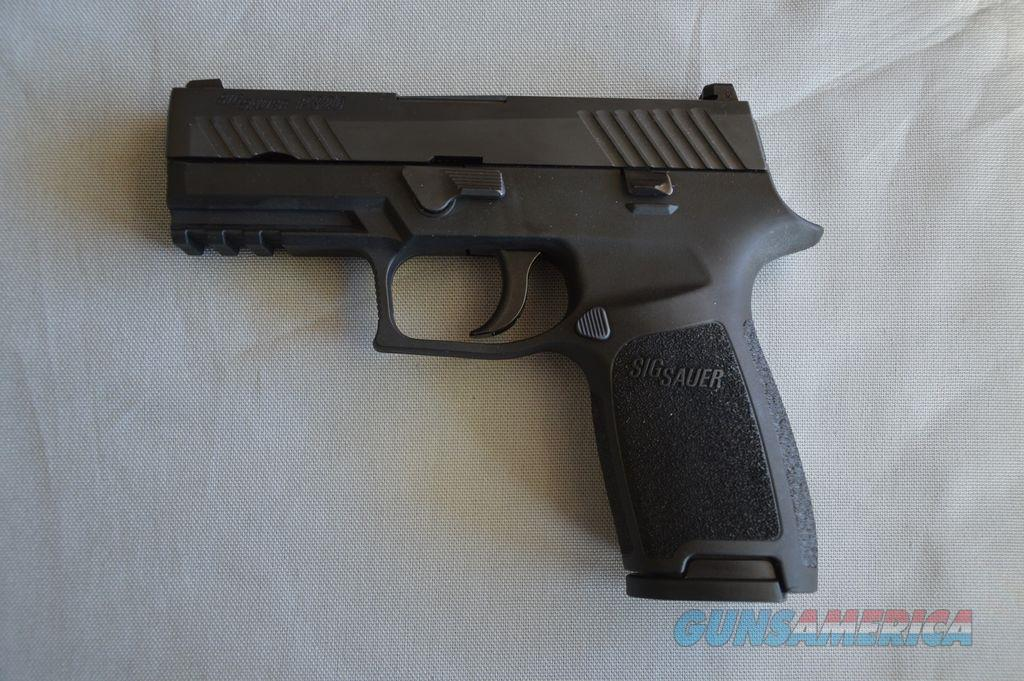 Sig Sauer P320 Carry .45 ACP w/ Contrast Sites and (2) 17 Round Staggered Mags  Guns > Pistols > Sig - Sauer/Sigarms Pistols > P320