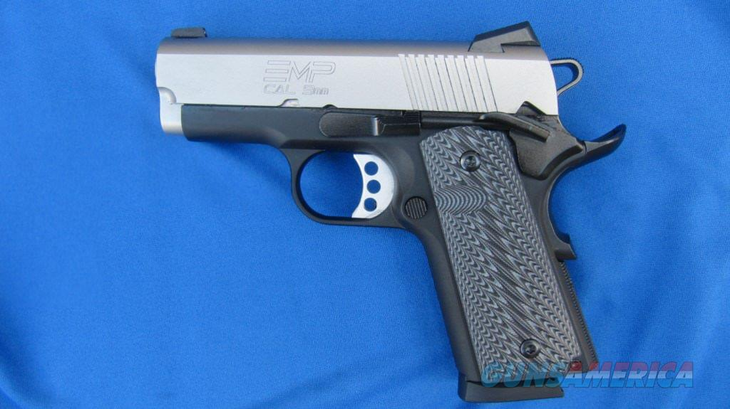 Springfield Armory 1911 EMP Compact LW 9mm  Guns > Pistols > Springfield Armory Pistols > 1911 Type