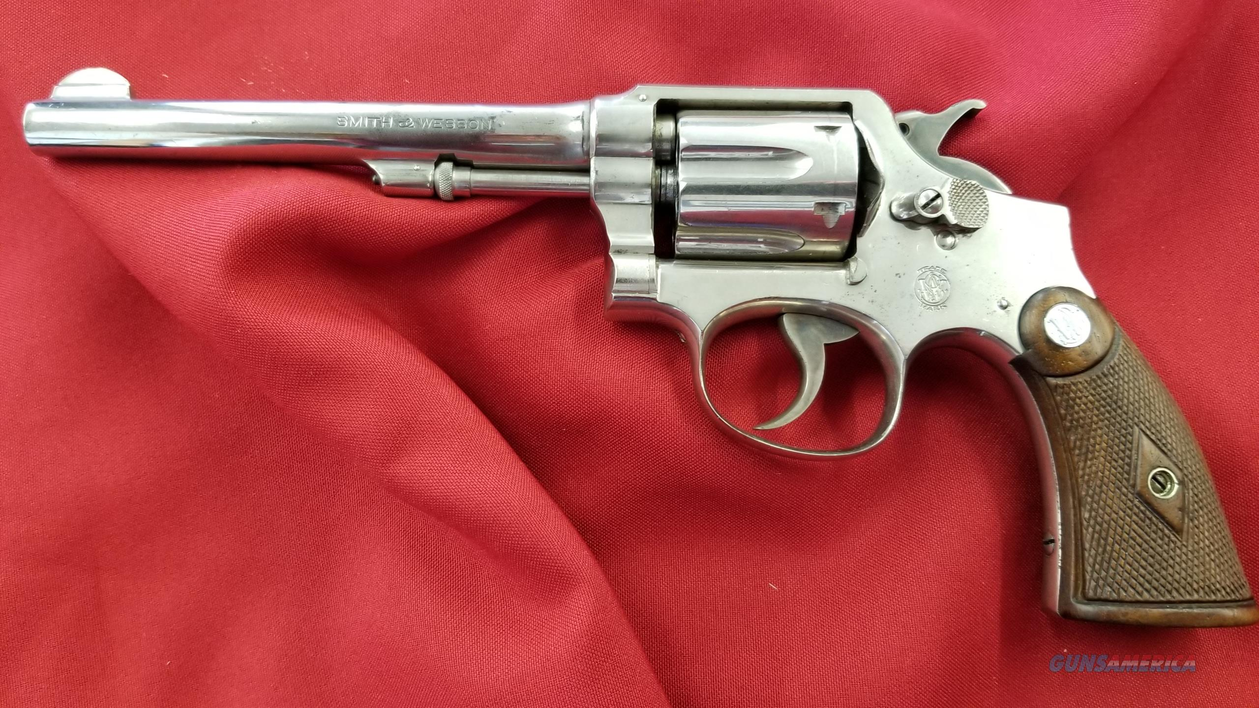 Used Smith and Wesson 1905 .32-20 4th Change 80%+ Condition  Guns > Pistols > Smith & Wesson Revolvers > Pre-1945
