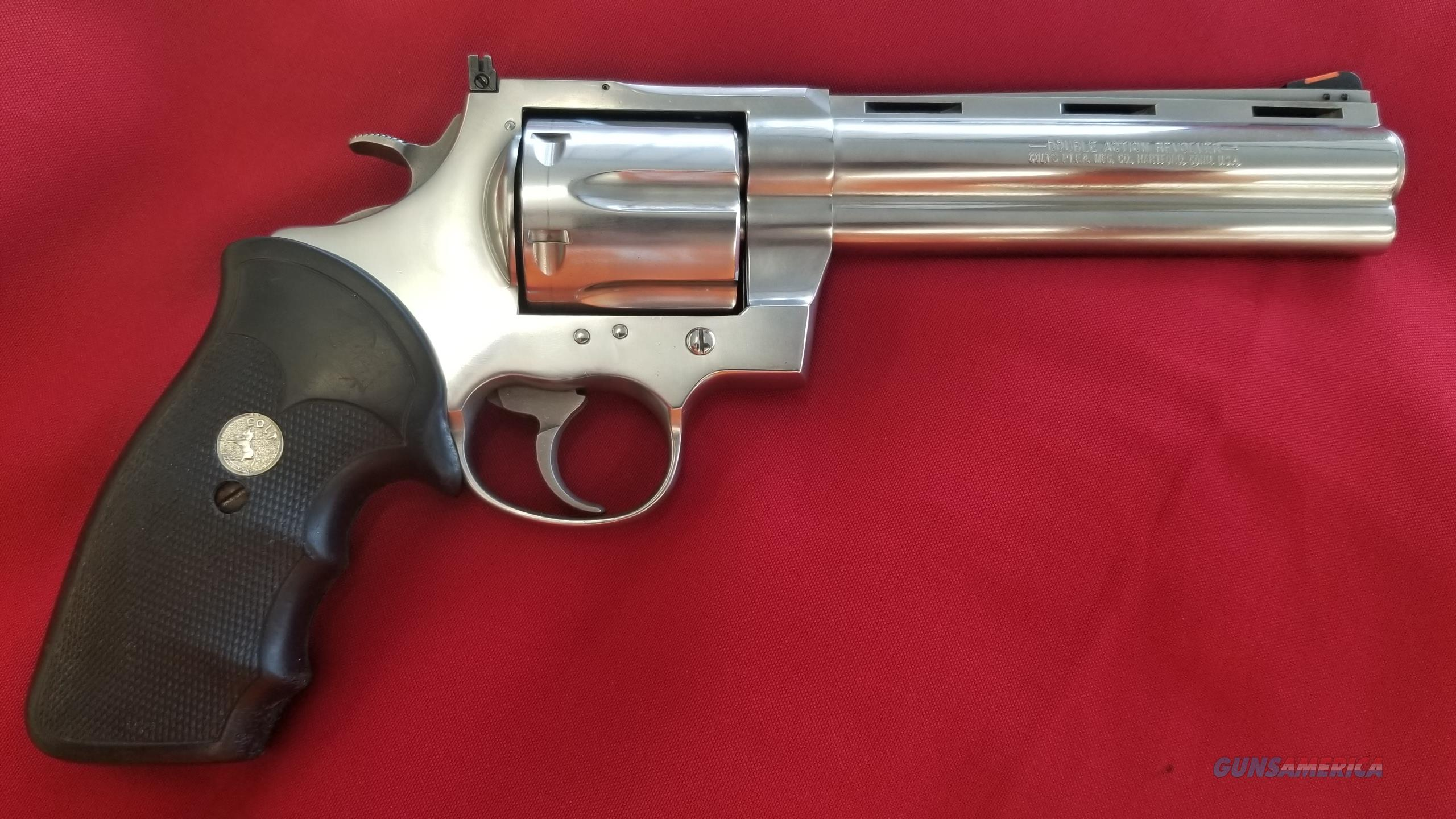 Pre Owned Colt Anaconda 6 Inch Revolver in 44 Magnum  Guns > Pistols > Colt Double Action Revolvers- Modern