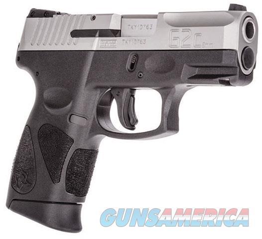 "Taurus G2C 9mm Two Tone 3.2"" Barrel 2x12  Guns > Pistols > Taurus Pistols > Semi Auto Pistols > Polymer Frame"