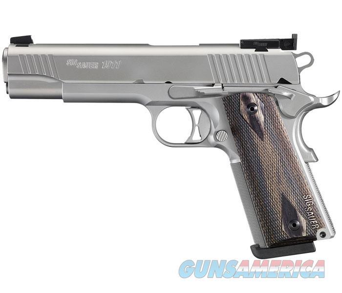 Sig Sauer 1911 Match Elite Stainless Full-Size 9mm  Guns > Pistols > Sig - Sauer/Sigarms Pistols > 1911