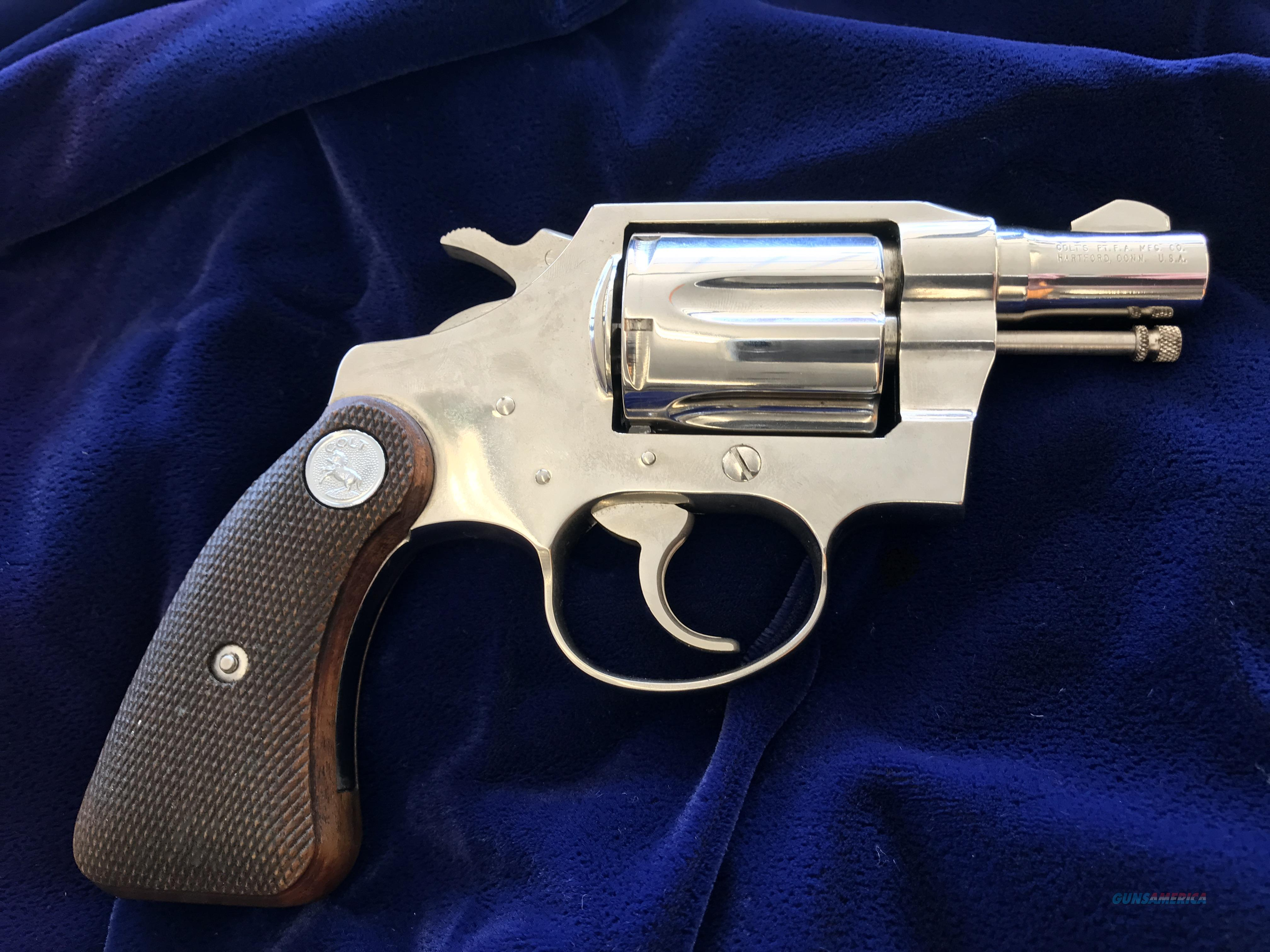 Colt Detective Special Post-War (Second Issue)  Guns > Pistols > Colt Single Action Revolvers - 2nd Gen.