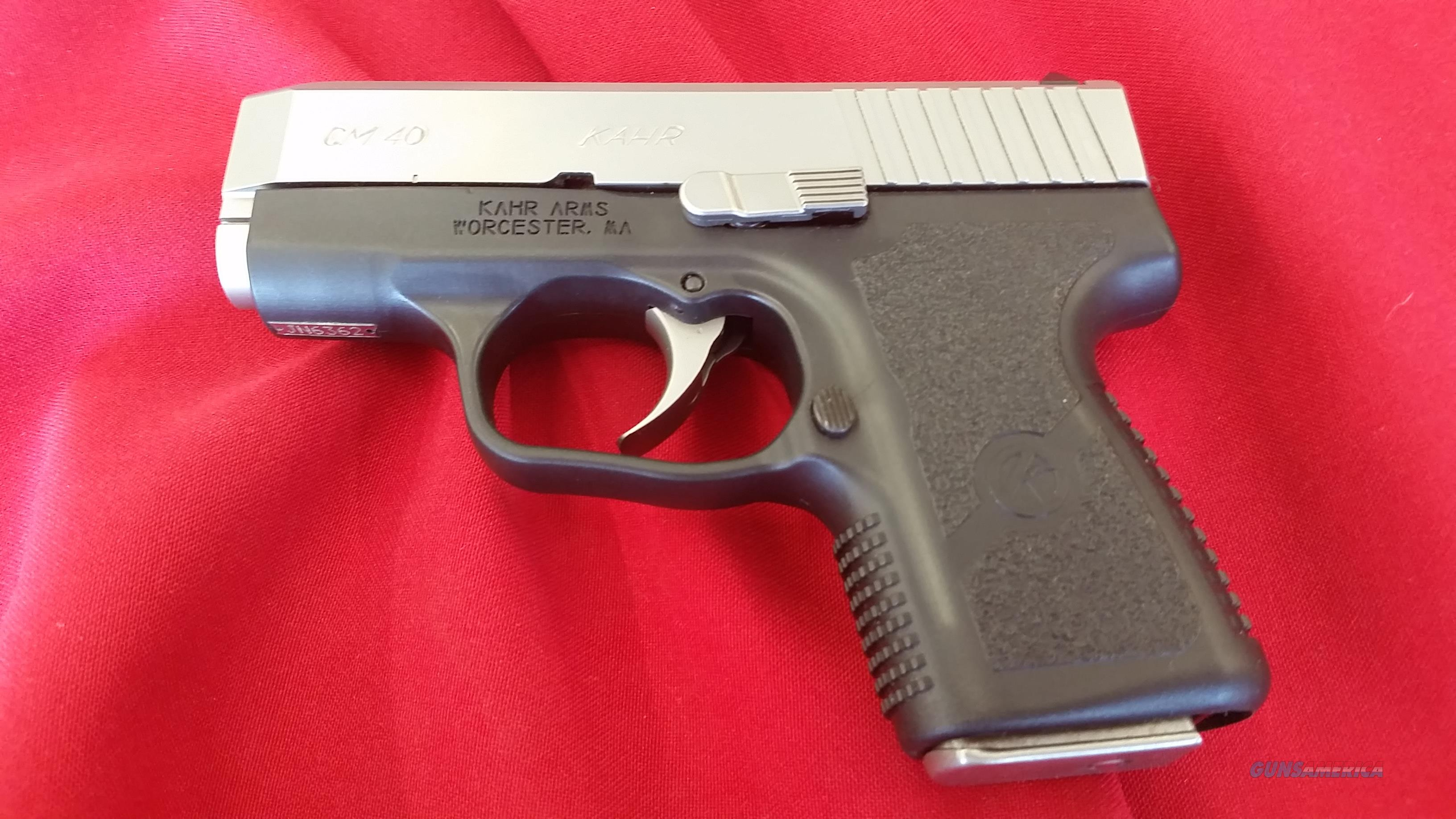 Kahr Arms CM40 .40 S&W w/ 5 Round Magazine  Guns > Pistols > Kahr Pistols
