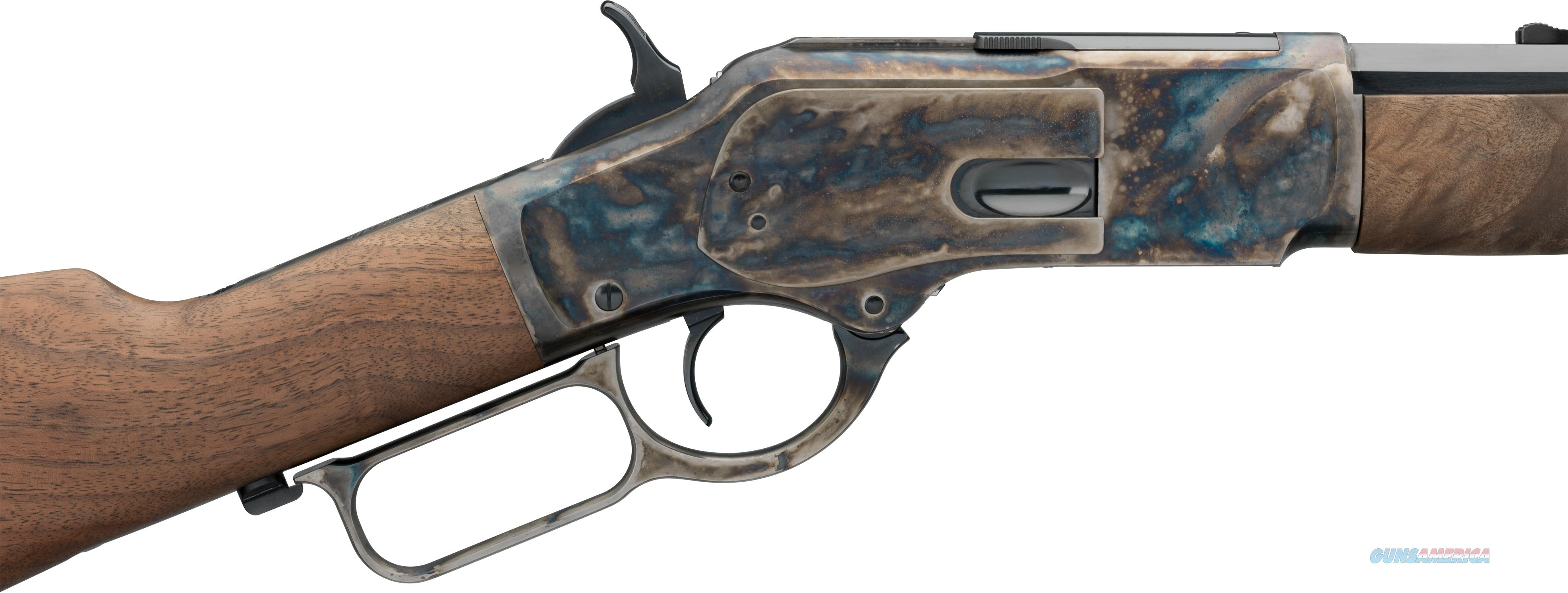 """Winchester 1873 Short Rifle Beautifully Case Hardened 20"""" Barrel In 44-40  Guns > Rifles > Winchester Rifles - Modern Lever > Other Lever > Post-64"""
