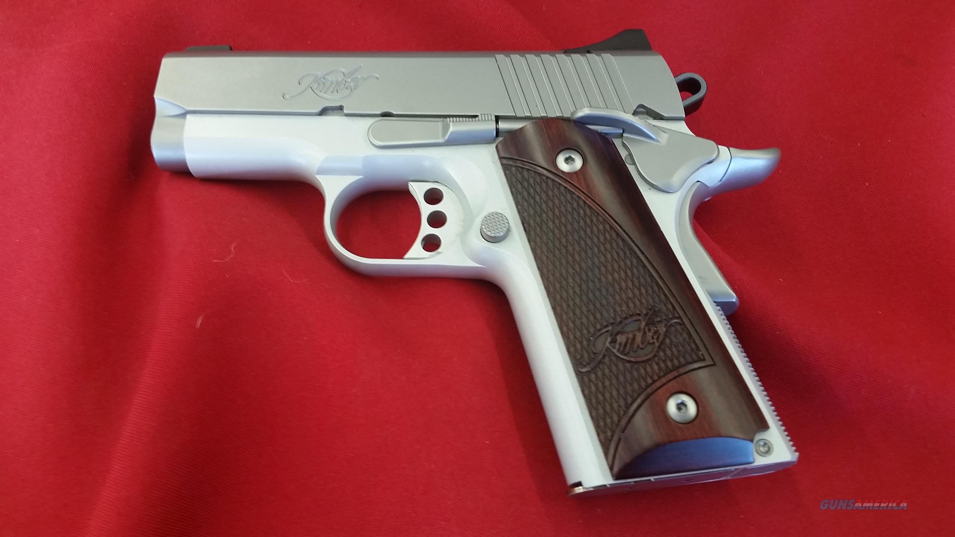 "Kimber Stainless Ultra Carry II 3"" barrel 9mm w/ 7 round mag  Guns > Pistols > Kimber of America Pistols > 1911"