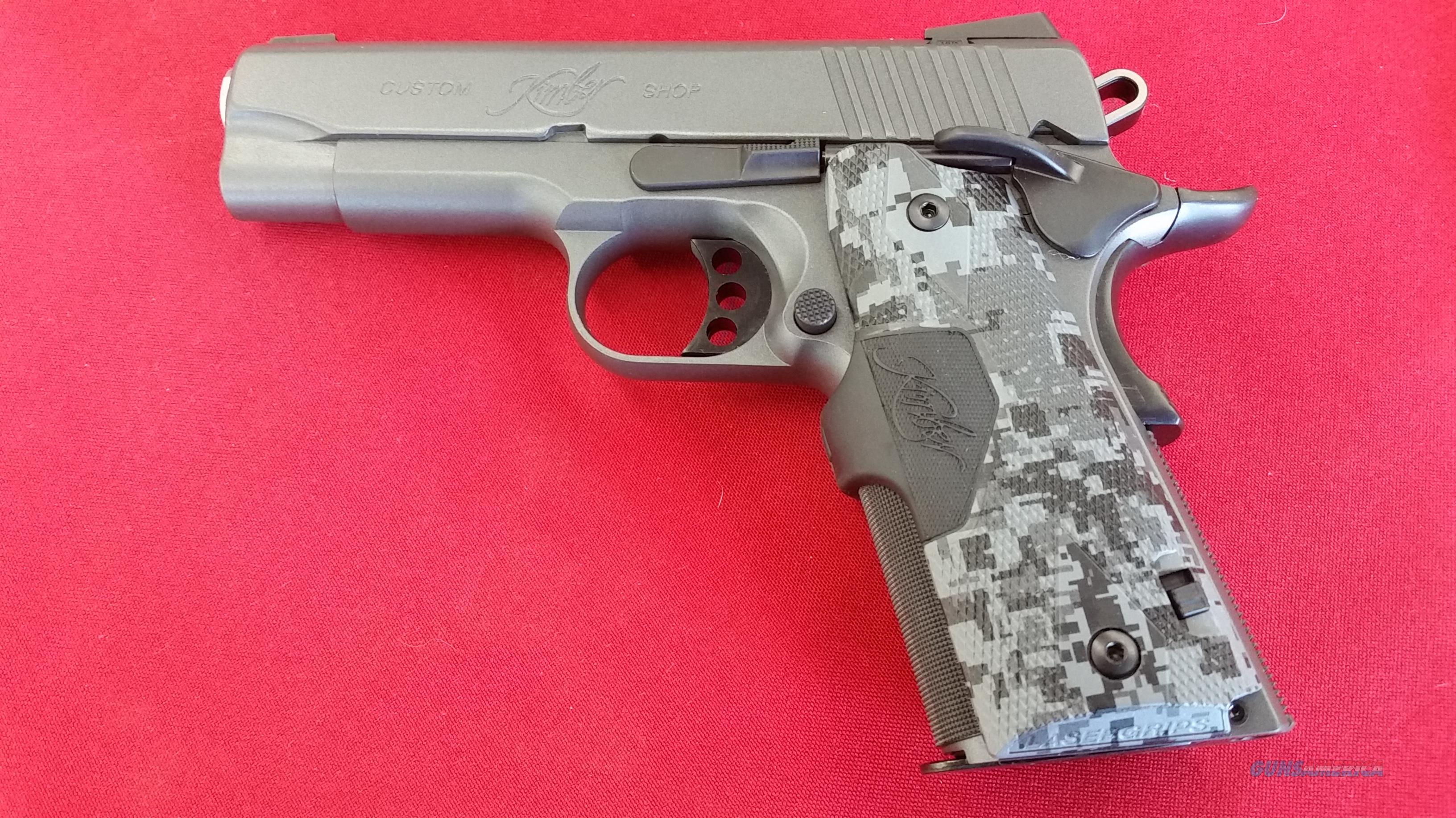 Kimber Pro Covert w/  7 round mag and it's Crimson Trace Laser Grips  Guns > Pistols > Kimber of America Pistols > 1911