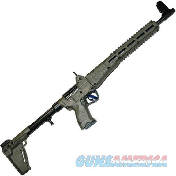 Kel-Tec Sub 2000 (Green) 9mm w/ 17 Round Mag (Uses Glock Mags)  Guns > Rifles > Kel-Tec Rifles