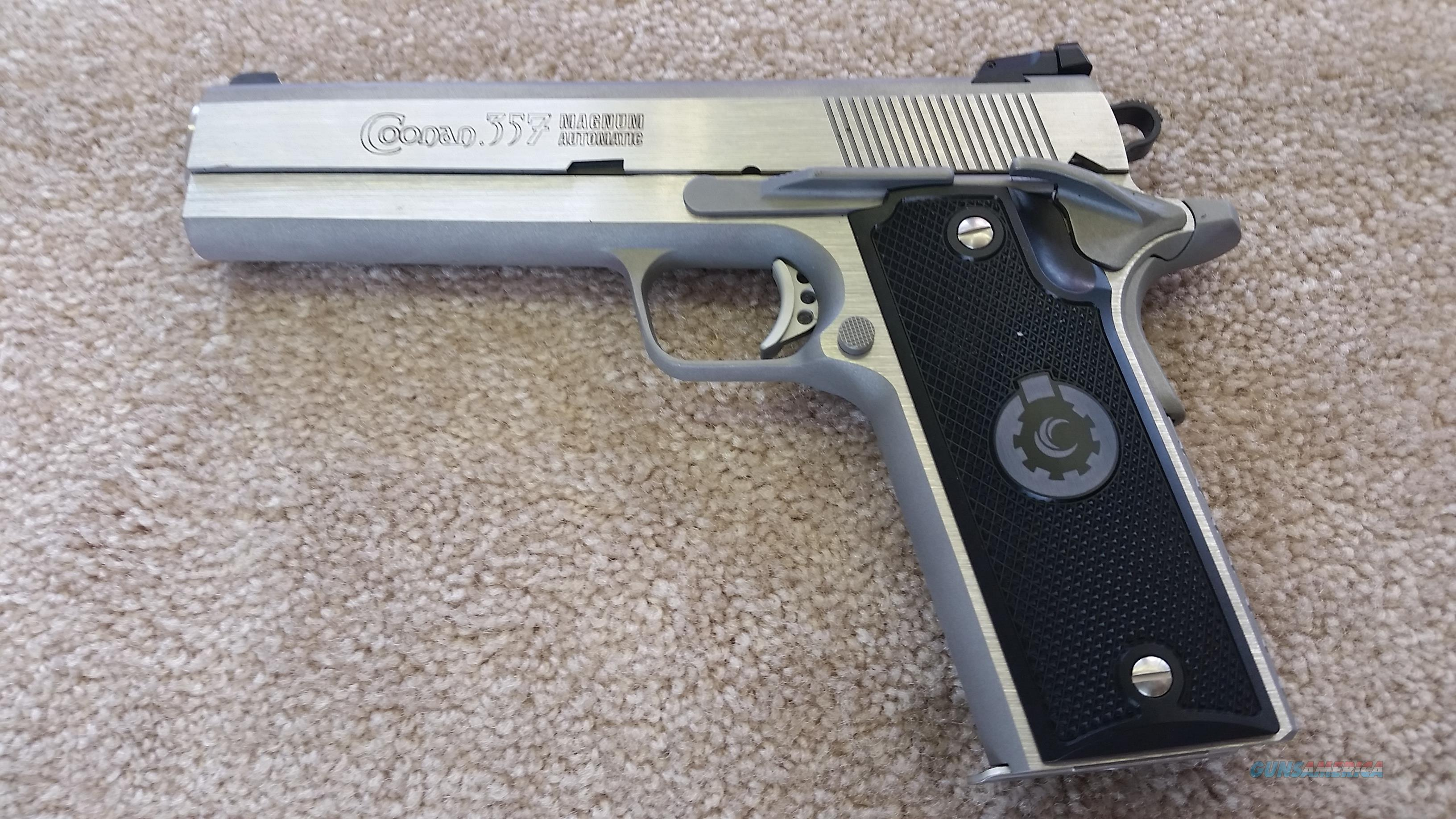 Coonan Classic .357/ 38 w/ (2) 7 Round Mags and .38 spc Recoil Spring  Guns > Pistols > Coonan Arms Pistols