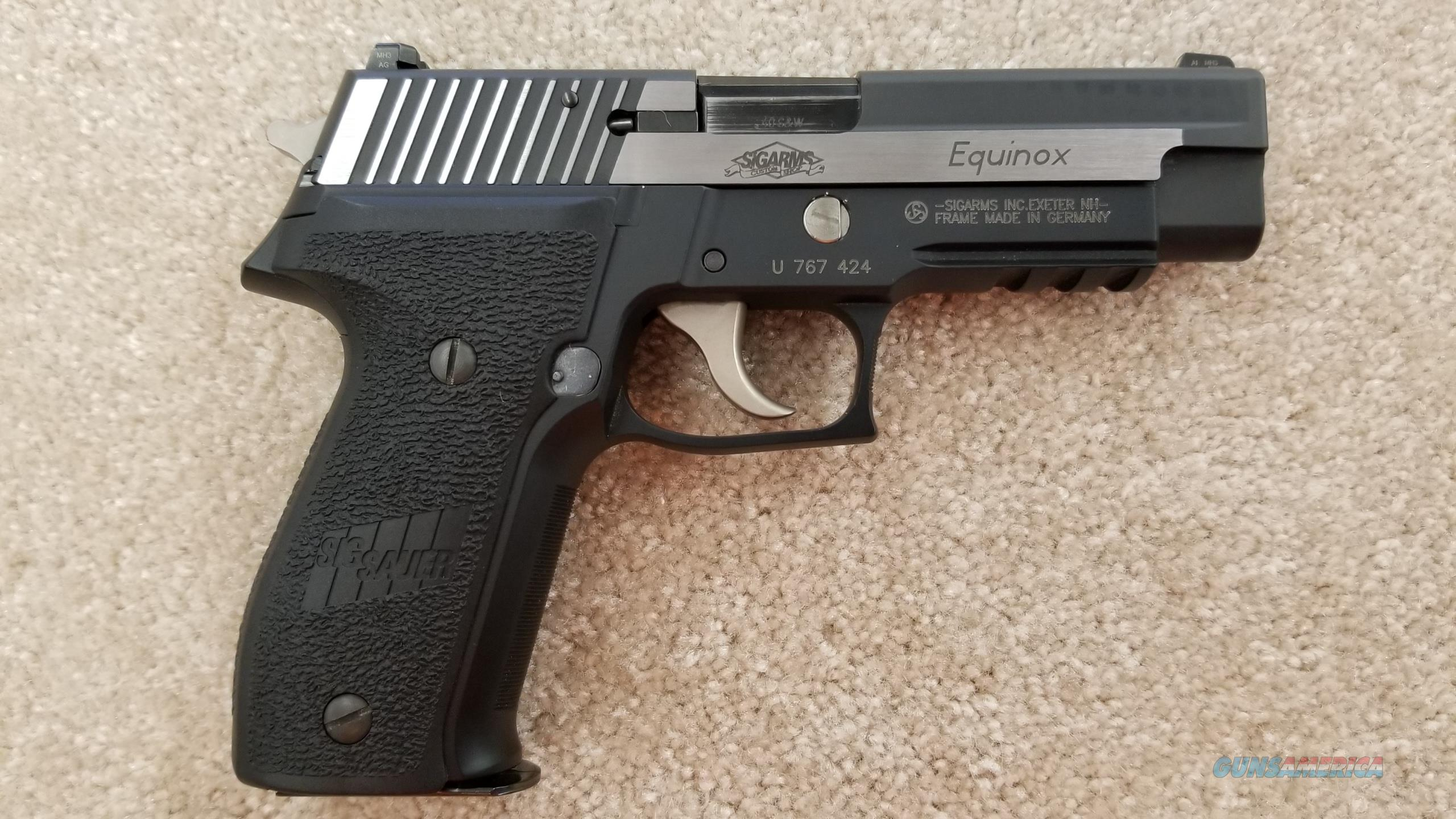Pre Owned Sig Sauer P226 Equinox .40 S&W  Guns > Pistols > Sig - Sauer/Sigarms Pistols > P226