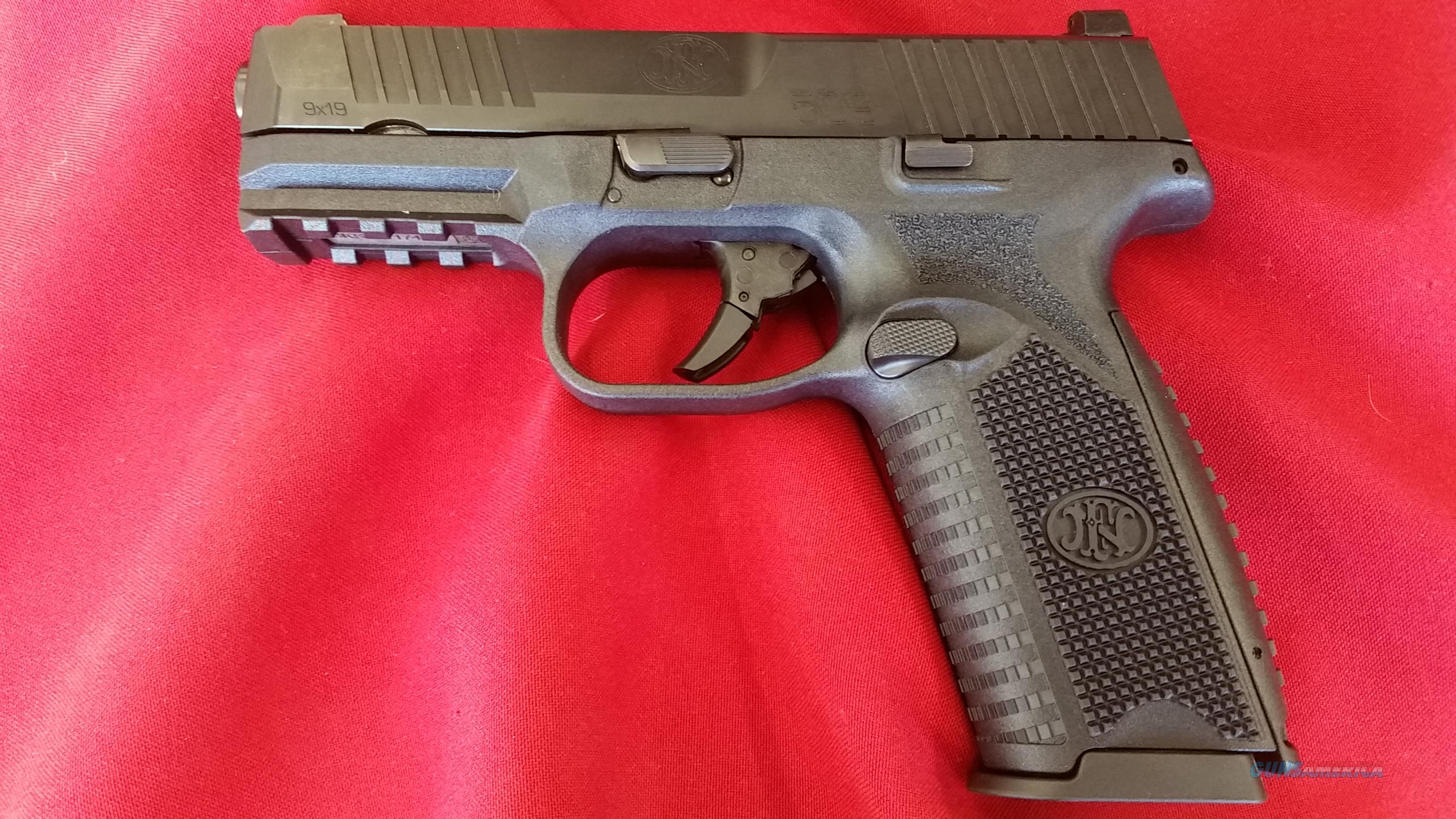 FN 509 NMS 9mm w/ Staggered 17+1 Rounds Mag  Guns > Pistols > FNH - Fabrique Nationale (FN) Pistols > FN 509