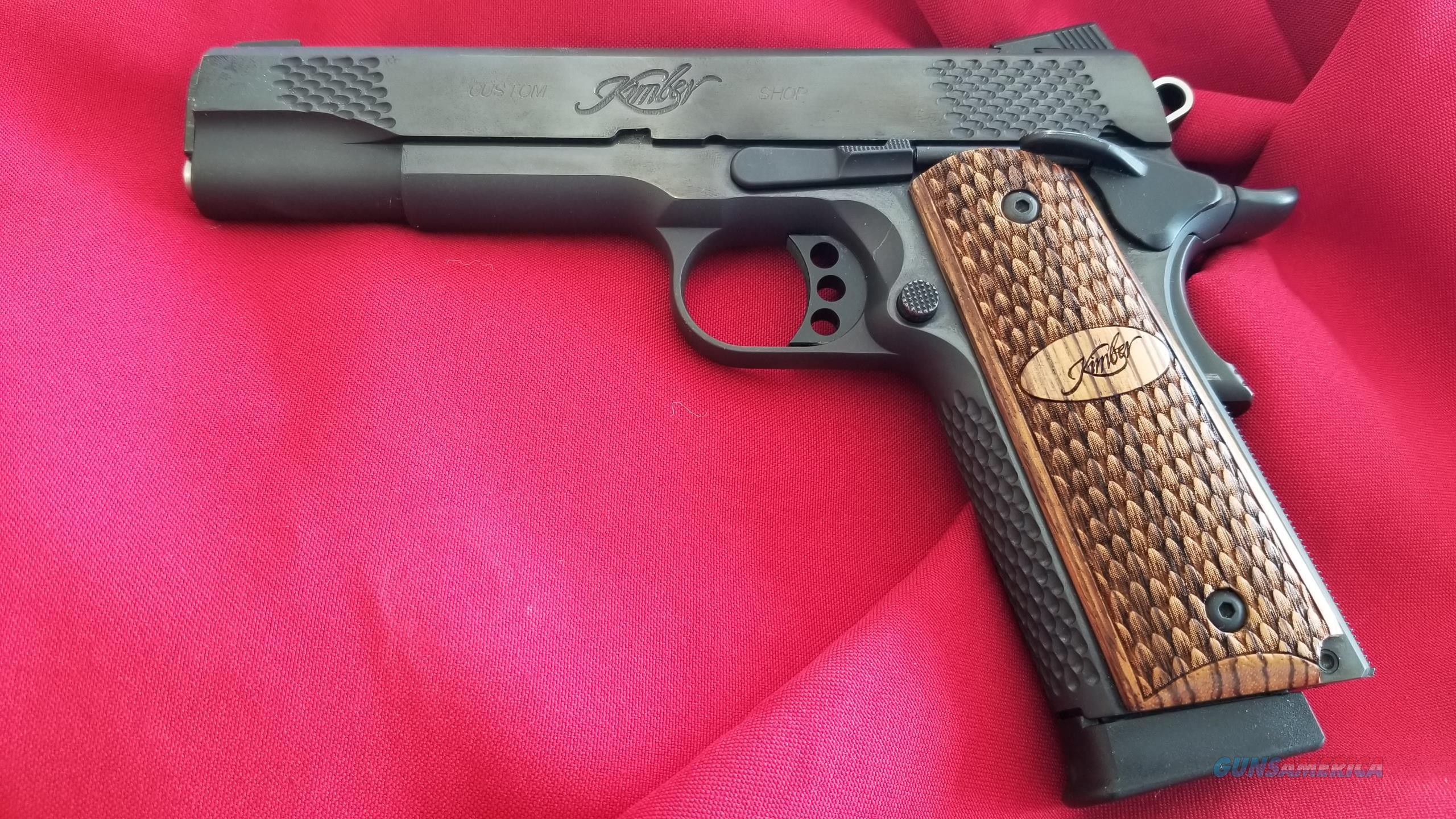 Used as New Kimber Raptor II 45 ACP Custom Pistol  Guns > Pistols > Kimber of America Pistols > 1911