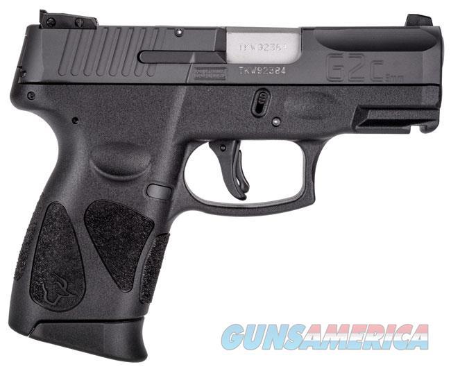 Taurus G2C 9mm Pistol in All Black  Guns > Pistols > Taurus Pistols > Semi Auto Pistols > Polymer Frame