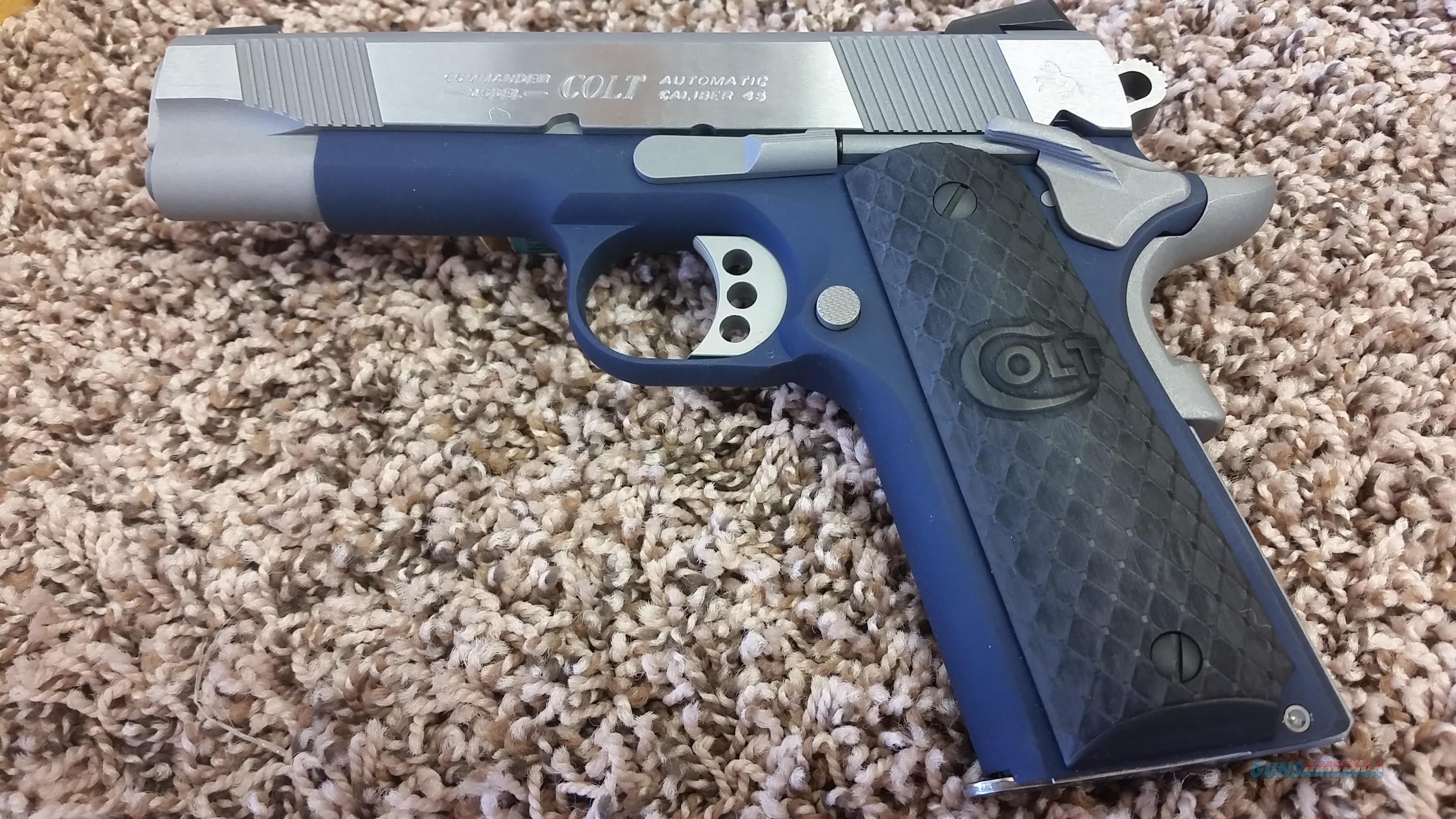 Colt Lightweight Commander .45 acp Navy Color (1 of 100 made)  Guns > Pistols > Colt Double Action Revolvers- Modern